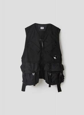 CP Company | Vest | 10CMOW057A 005782M zwart