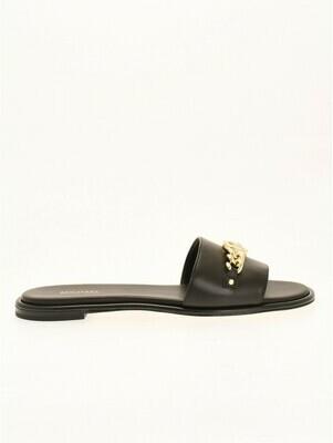 Michael Kors | Slippers | 40S1RIFA1L zwart