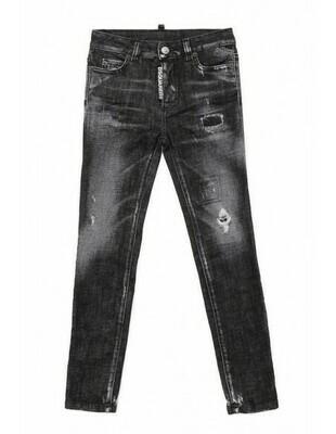 Dsquared2 Kids | Jeans Twiggy | DQ01DXD00VKD2P101F zwart