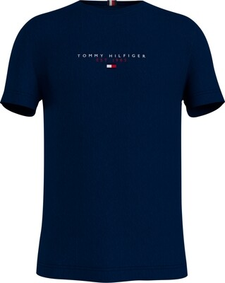 Tommy Hilfiger | T-shirt | MW0MW17676 d.blauw