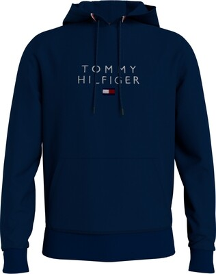 Tommy Hilfiger | Hoody | MW0MW17397 d.blauw