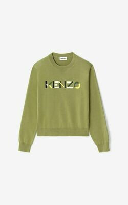 Kenzo   Sweater   FB52PU5413LA groen