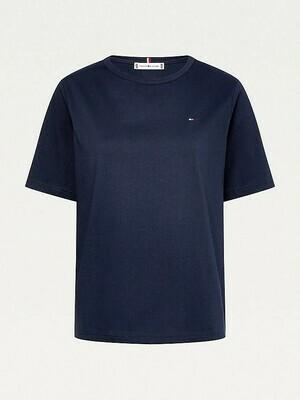 Tommy Hilfiger | T-shirt | WW0WW30469 d.blauw