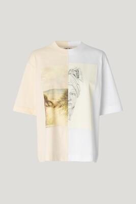 Baum und Pferdgarten | T-shirt | 21757 creme