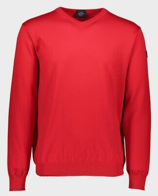 Paul and Shark   Pullover   C0P1041 rood