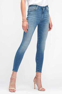 7 For All Mankind   Jeans HW Skinny   JSWZB740BY l.blauw