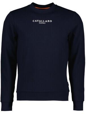Cavallaro   Sweater   120212015 d.blauw