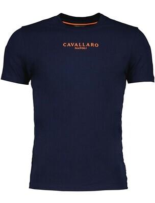 Cavallaro   T-shirt   117212019 d.blauw