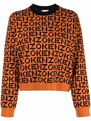 Kenzo | Sweater | FB62PU6363SC oranje