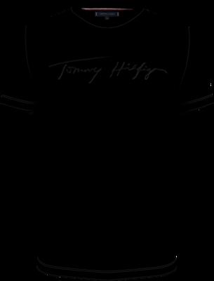Tommy Hilfiger   T-shirt   MW0MW18729 d.blauw