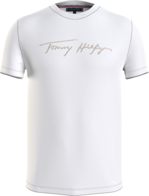 Tommy Hilfiger   T-shirt   MW0MW18729 wit