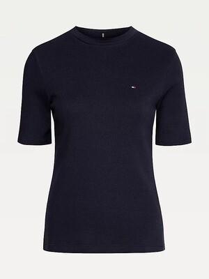 Tommy Hilfiger   T-shirt   WW0WW30891 zwart