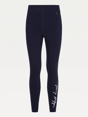 Tommy Hilfiger   Legging   WW0WW30977 d.blauw