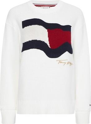 Tommy Hilfiger | Sweater | WW0WW30860 wit