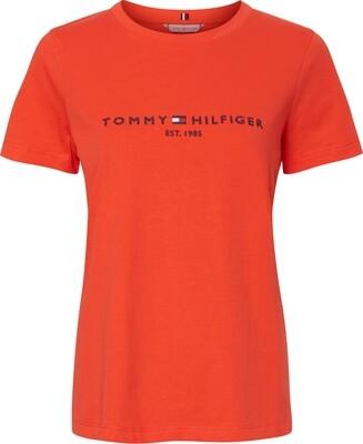 Tommy Hilfiger   T-shirt   WW0WW28681Z21 oranje