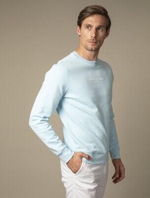 Cavallaro Napoli | Sweater | 120211008 blauw