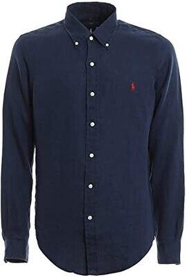 Ralph Lauren | Linnen Shirt | 710794142 navy