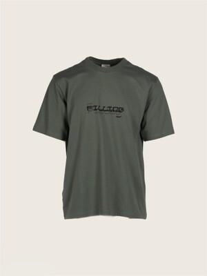 Filling Pieces | T-shirt | 0770303 groen