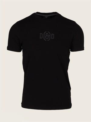 D&D   T-shirt + Tas   117216001 zwart