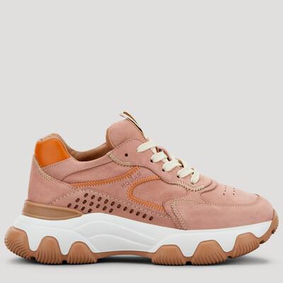 Hogan | Sneaker Hyperactive Pink | HXW5400DQ01 roze