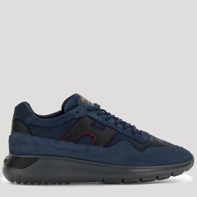 Hogan | Sneaker Interactive³ | HXM3710AM24 d.blauw