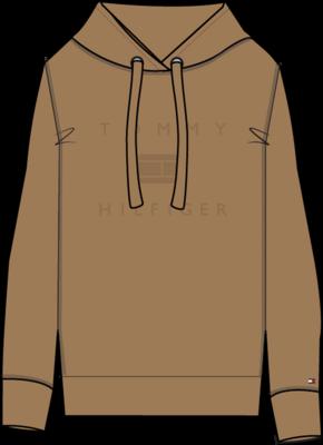 Tommy Hilfiger | Hoody | WW0WW31725 bruin