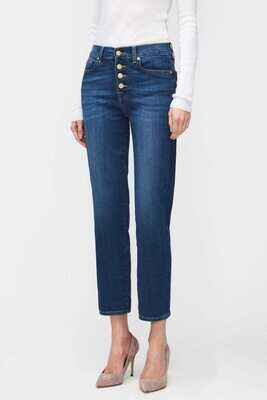 7 For All Mankind   Jeans The Straight   JSYX887BDD mid blue