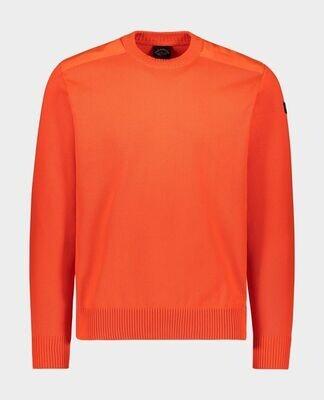 Paul and Shark   Pullover   11311300 oranje