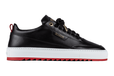 Mason Garments   Sneaker   FW2115DTORINO zwart