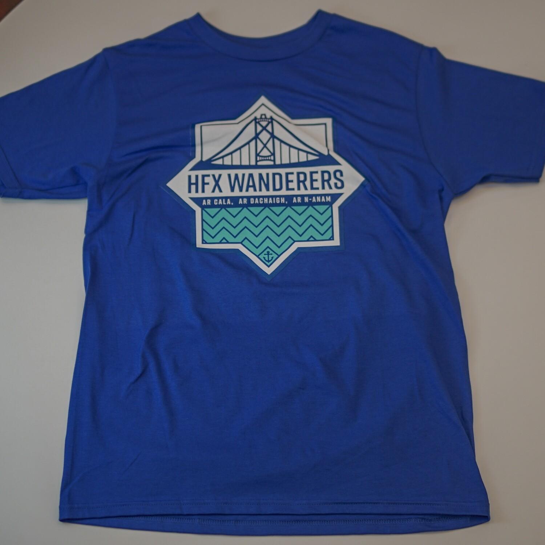 Big Logo T Shirts- Royal
