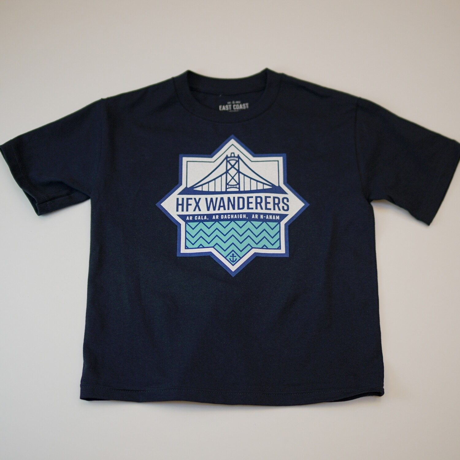 Big Logo T Shirts- Navy