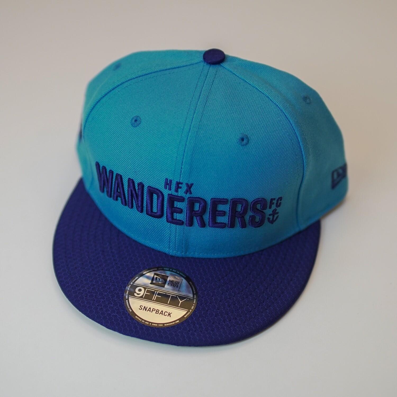 HFX Wanderers New Era Blue 9FIFTY Snapback Hat