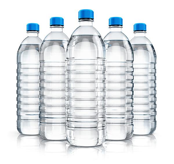6 Water/ Viveau Light Sparkling Water  - Choose 6 bottles per order