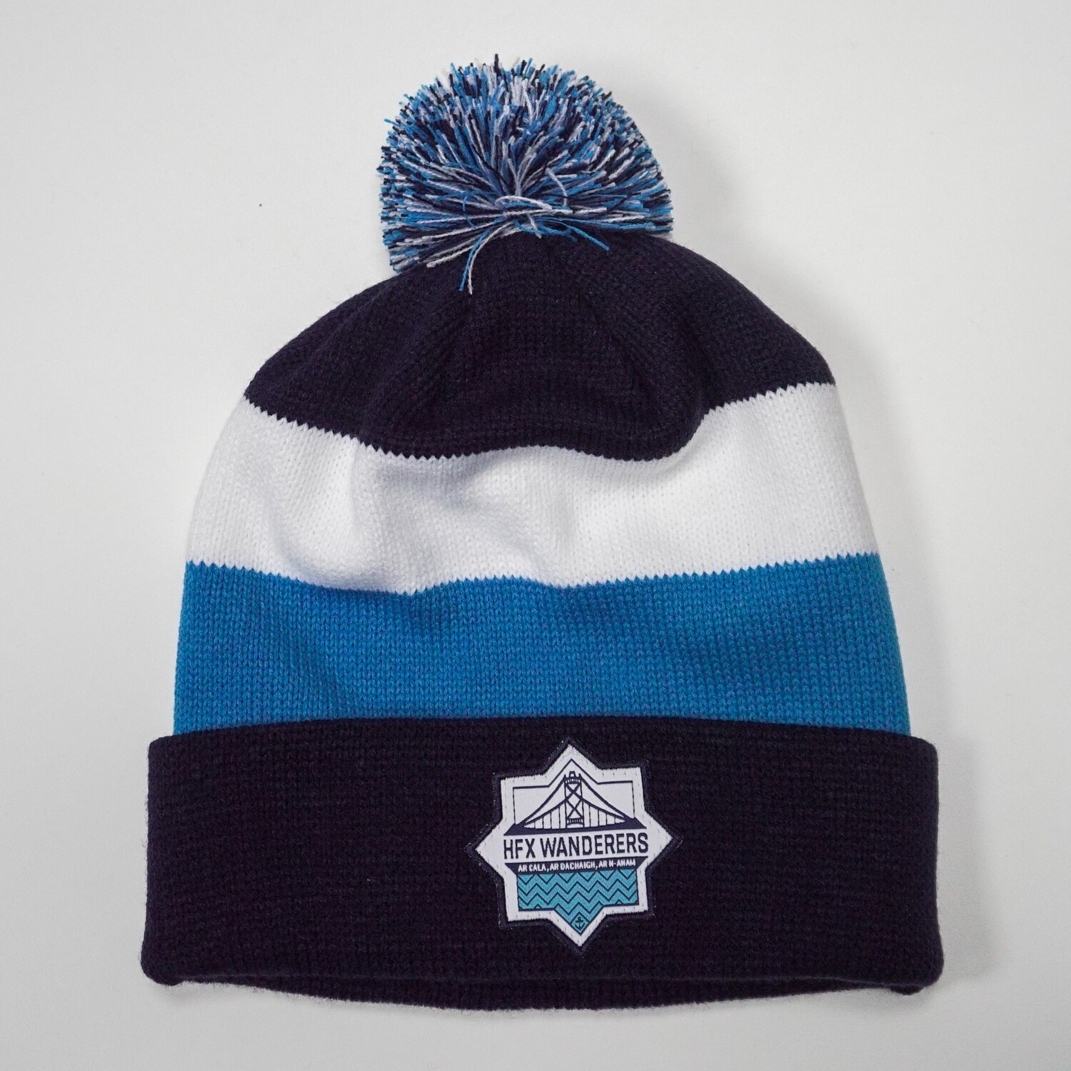 HFX Wanderers Striped Tuque