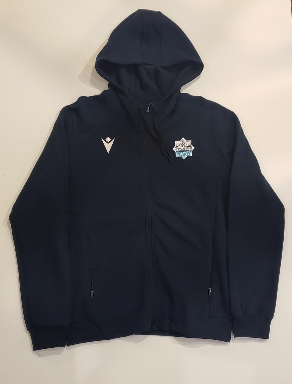 Full-Zip Hoodie Sweater **Team Issue** Navy