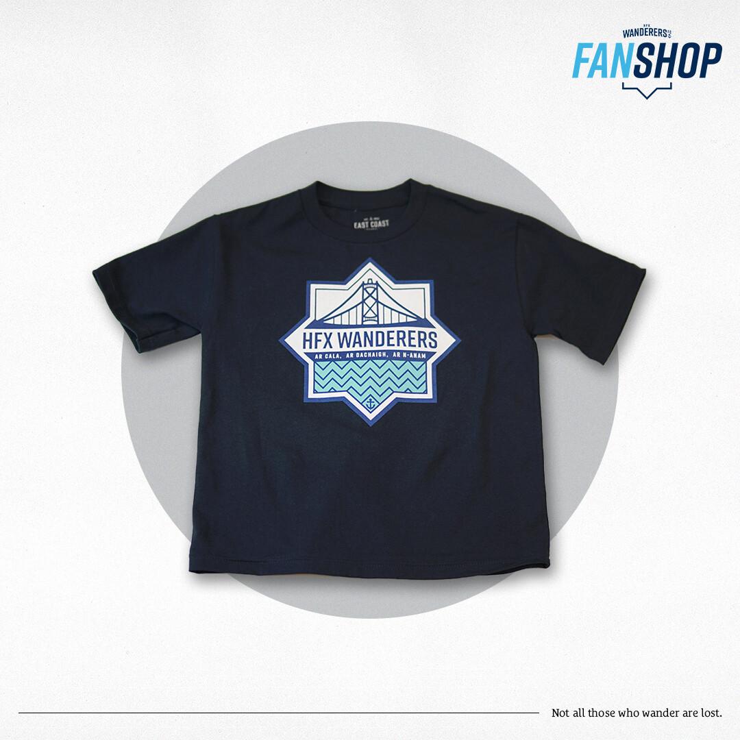 Junior T-Shirt Navy (East Coast Lifestyle)