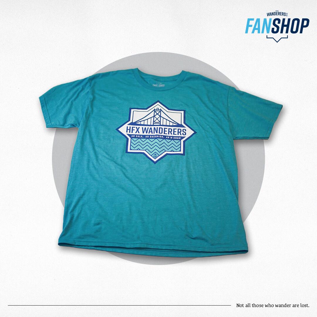 T-Shirt Aqua (East Coast Lifestyle)