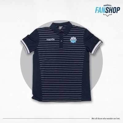 Macron- Player Polo with Stripes