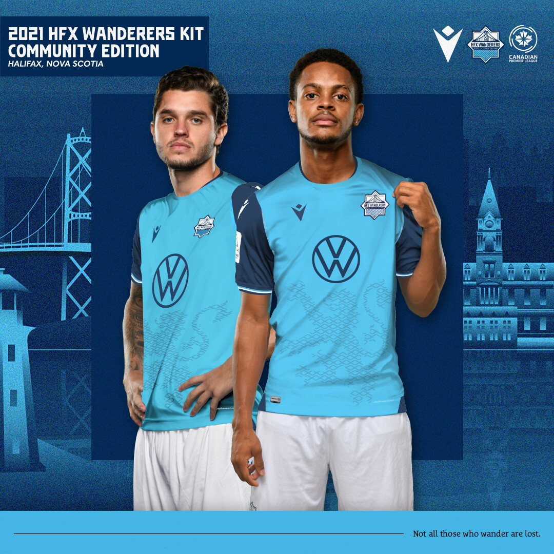 2021 HFX Wanderers Kit: Community Edition