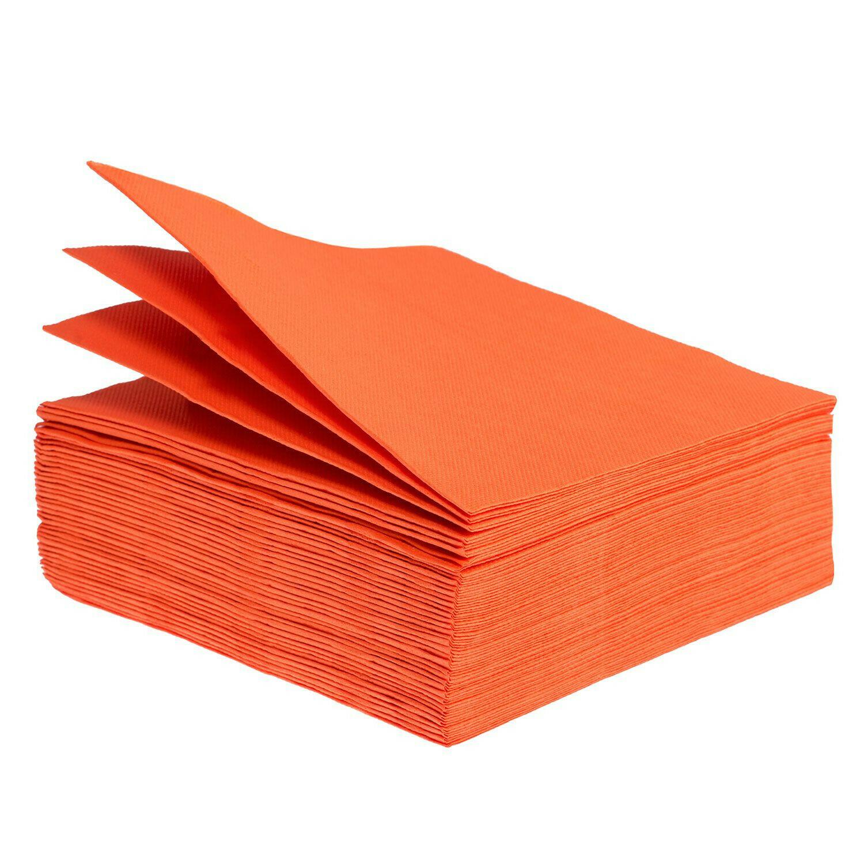Tovaglioli arancioni 25cm X 25cm - 3'000 pezzi