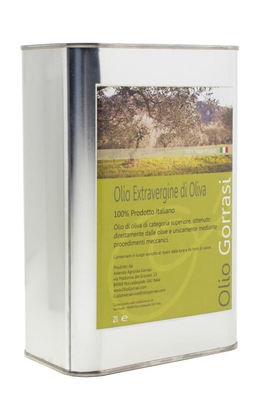 Olio Extravergine di Oliva - 10 Litri - (5 taniche da 2 litri)