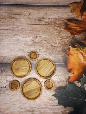 Соусник деревянный