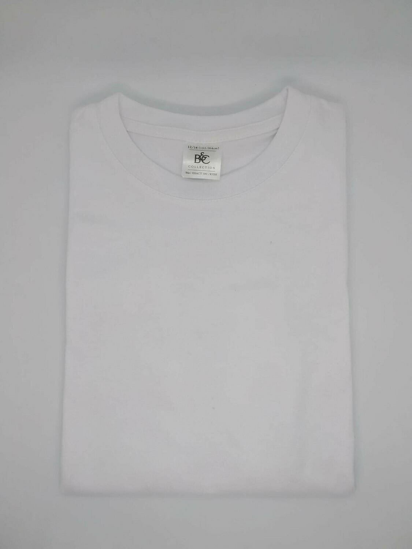 Witte t-shirt voor onder schooluniform en/of praktijkkledij