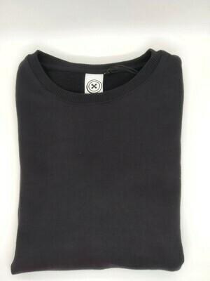 Sweater marineblauw met ronde hals