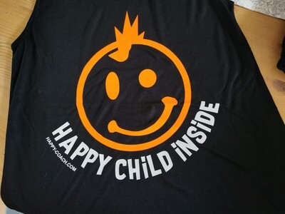 25. HAPPY CHILD INSIDE - Women`s Freedom Sleeveless Tee
