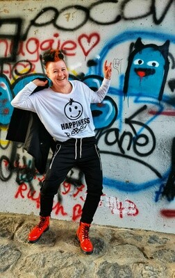 14.2 HAPPINESS REBEL - Women`s Freedom Longsleeve
