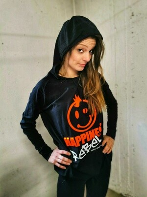 13.2 HAPPINESS REBEL - Women`s Wellness Kaputzenpulli