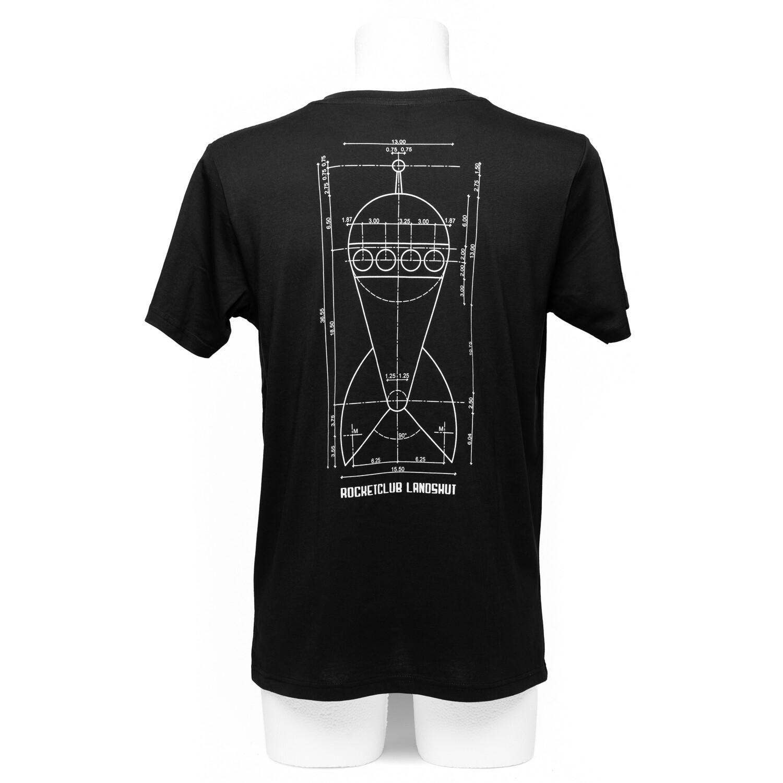 Herren Raketenshirt Rundhals light