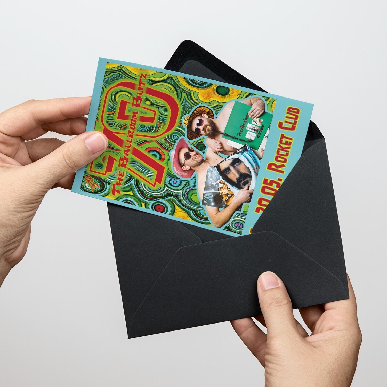 Soli-Postkarte Ballroom Blitz