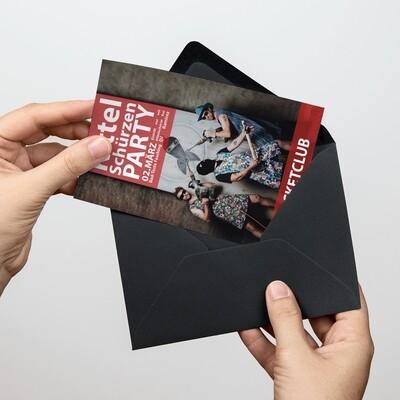 Soli-Postkarte Kittelschürze